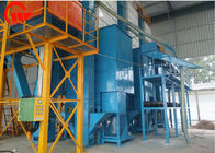 High Speed Recirculating Batch Dryer , Dual Centrifugal Fan Grain Drying Equipment