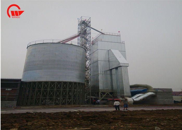 300T Maize Drying Machine , WGS300 Continuous Flow Grain Dryer ISO Certification