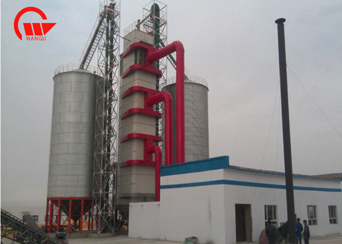 Lean Hot Blast Grain Dryer Machine 100 - 1000T / D Handling Capacity WGS700 Model