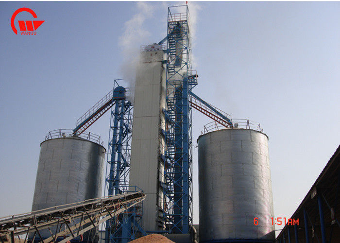 Fully Automatic Control Corn Dryer Machine 200 Ton Capacity Corn Raw Material