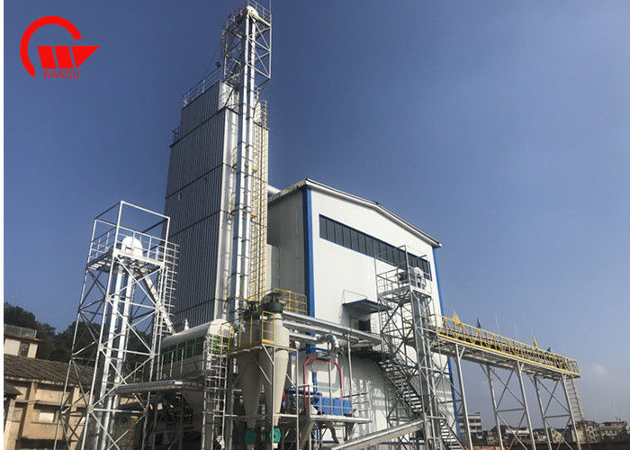 Galvanization Mixed Flow Grain Dryer Machine With Low Energy Easy Operate